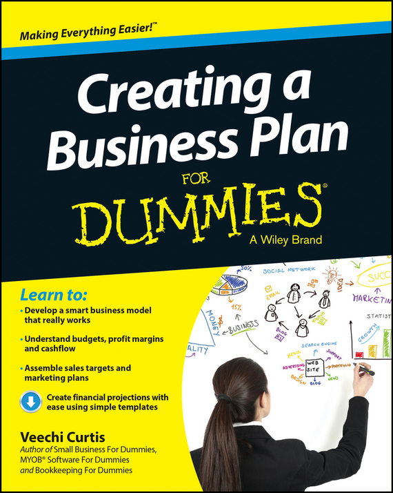 Veechi  Curtis Creating a Business Plan For Dummies how to plan a wedding for a royal spy