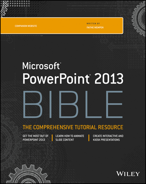Faithe Wempen PowerPoint 2013 Bible ISBN: 9781118647158 faithe wempen powerpoint 2013 bible