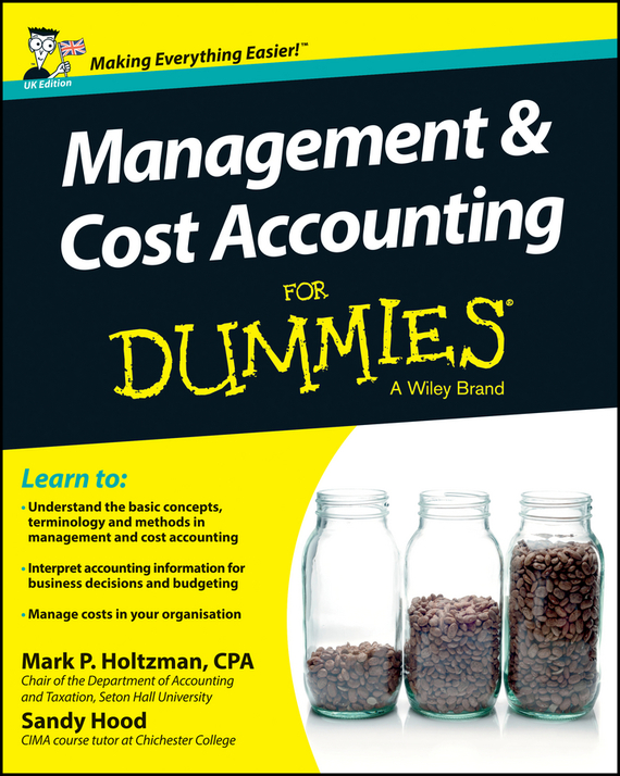 Sandy  Hood Management and Cost Accounting For Dummies - UK tony levene investing for dummies uk