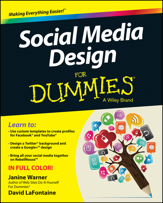 Janine  Warner Social Media Design For Dummies social spirits page 5