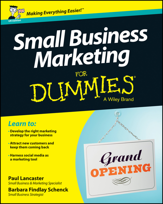 Paul  Lancaster Small Business Marketing For Dummies kate shoup starting an etsy business for dummies
