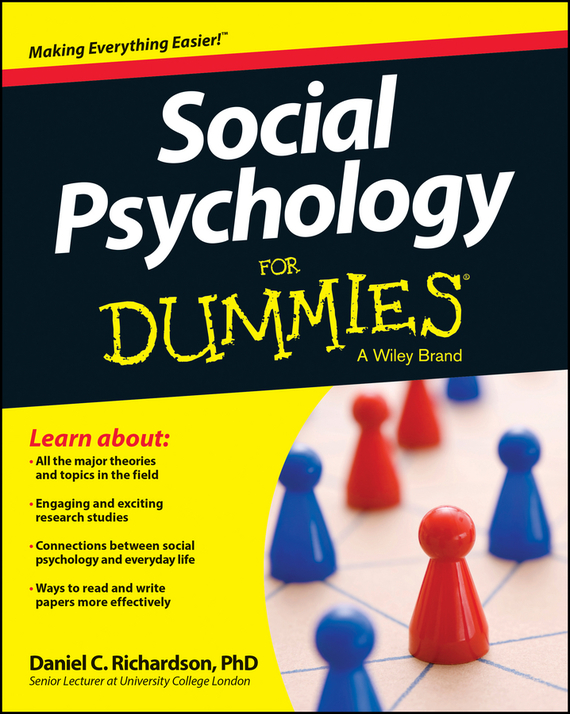 Daniel Richardson Social Psychology For Dummies coloring mandalas for dummies