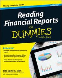 Lita  Epstein - Reading Financial Reports For Dummies