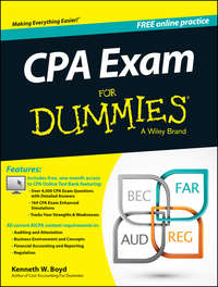 Kenneth Boyd W. - CPA Exam For Dummies