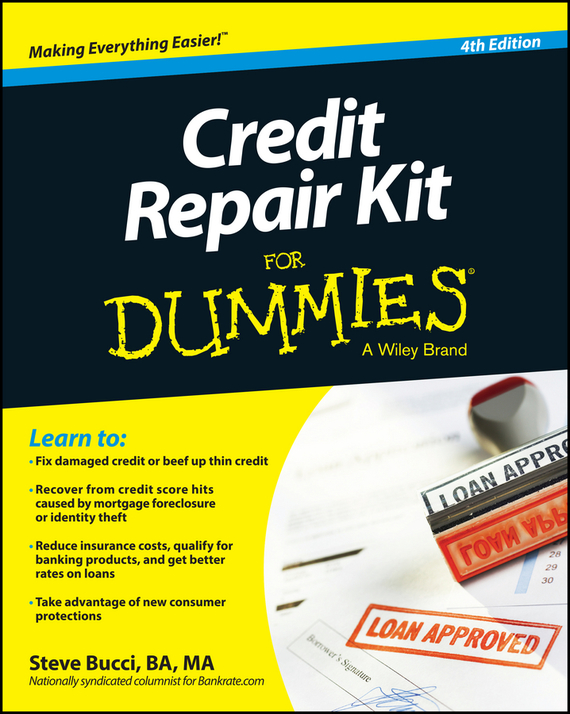 Steve  Bucci Credit Repair Kit For Dummies commercial bank credit to agriculture in india