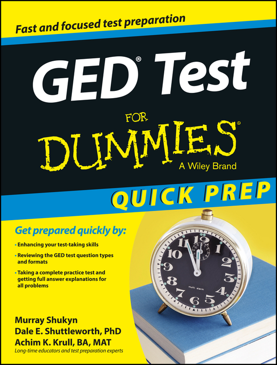 Murray Shukyn GED Test For Dummies, Quick Prep free shipping the laptop motherboard for asus k75d k75de qml70 la 8371p test good