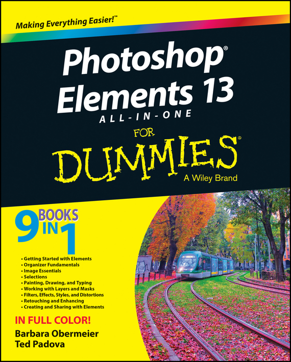 Barbara  Obermeier Photoshop Elements 13 All-in-One For Dummies barbara obermeier photoshop elements 2018 for dummies