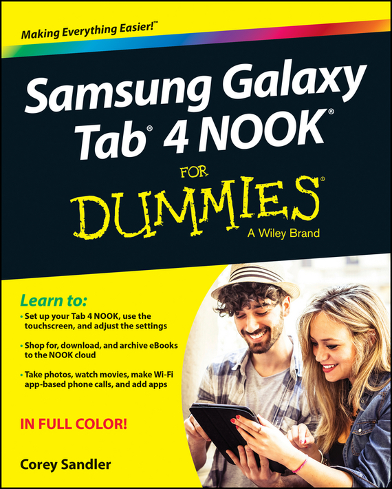 Corey  Sandler. Samsung Galaxy Tab 4 NOOK For Dummies