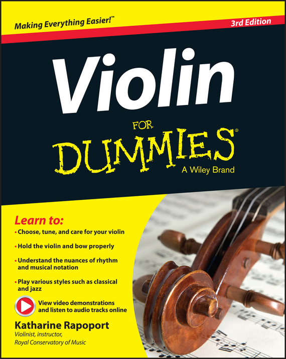 Katharine Rapoport Violin For Dummies