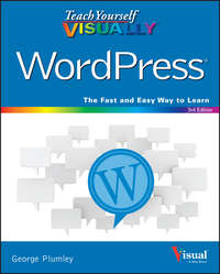 George  Plumley - Teach Yourself VISUALLY WordPress