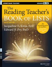 Edward Fry B. - The Reading Teacher's Book of Lists