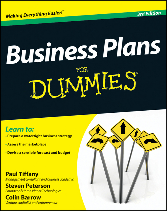 Colin  Barrow Business Plans For Dummies colin barrow starting a business for dummies