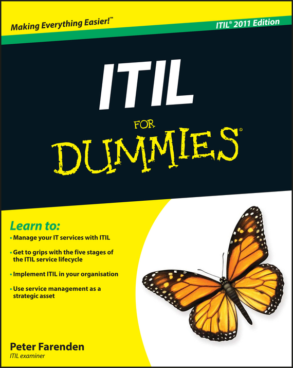 Peter Farenden ITIL For Dummies ISBN: 9781119951179