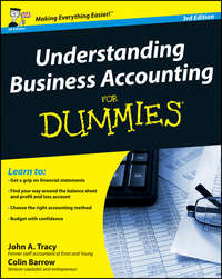 Colin  Barrow - Understanding Business Accounting For Dummies