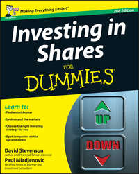 Paul  Mladjenovic - Investing in Shares For Dummies