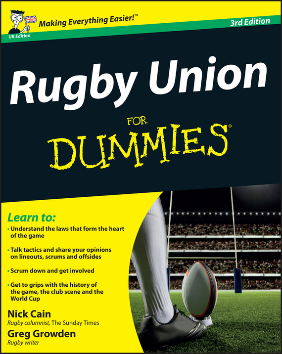 Greg  Growden Rugby Union For Dummies ayse evrensel international finance for dummies