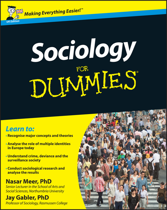 Jay Gabler Sociology For Dummies ISBN: 9781119970866 global sociology