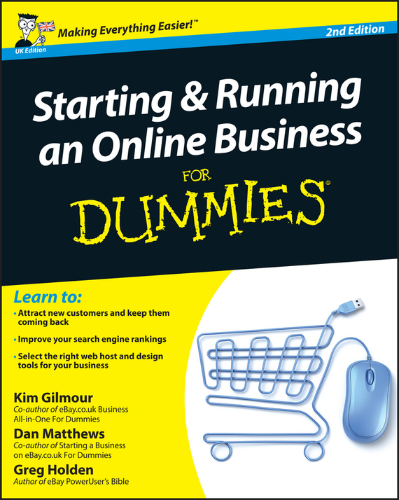 Greg  Holden Starting and Running an Online Business For Dummies colin barrow starting a business for dummies
