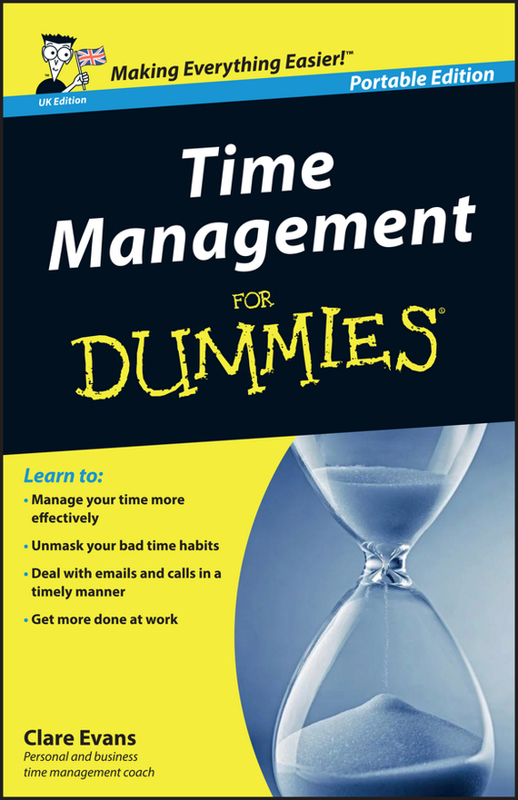Clare  Evans Time Management For Dummies – UK tony levene investing for dummies uk