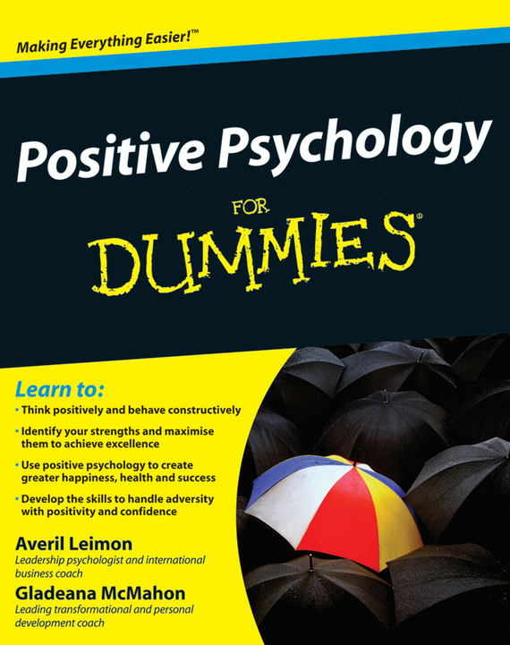 Gladeana McMahon Positive Psychology For Dummies epidemiology of hiv positive individuals