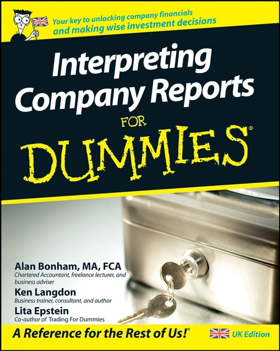 Lita  Epstein Interpreting Company Reports For Dummies lita epstein reading financial reports for dummies