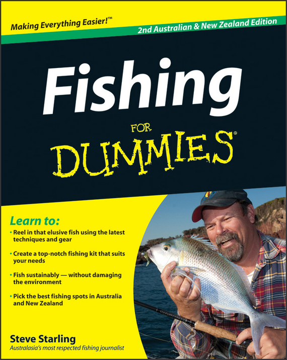 Steve Starling Fishing For Dummies ISBN: 9781742468389 1 set 15pcs vertical buoy sea fishing floats assorted size for most type of angling with attachment rubbers fishing lures