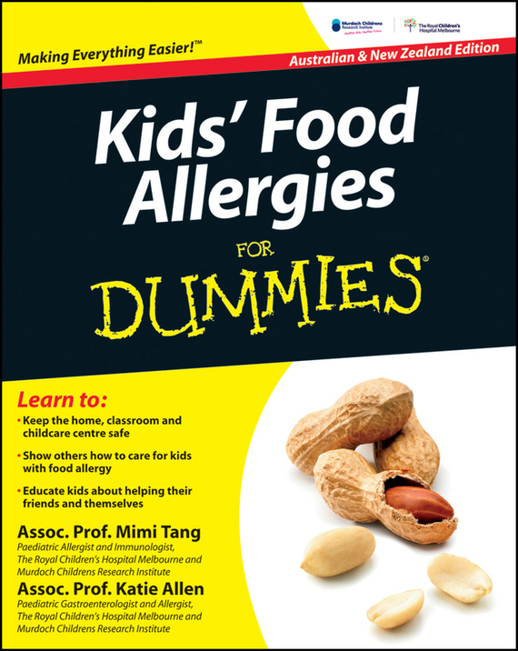 Mimi Tang Kids' Food Allergies for Dummies ISBN: 9781742468457 brain food how to eat smart and sharpen your mind