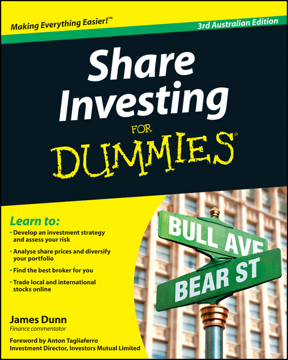 James  Dunn Share Investing For Dummies dunn james getting started in shares for dummies australia