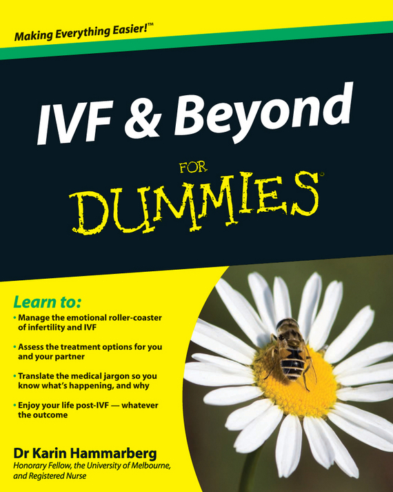 Karin Hammarberg IVF and Beyond For Dummies cd iron maiden a matter of life and death