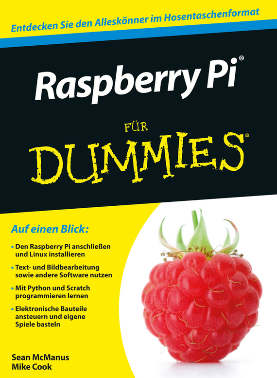 Sean McManus Raspberry Pi für Dummies raspberry pie 3 b raspberry pi 2 b c type dog bone shell