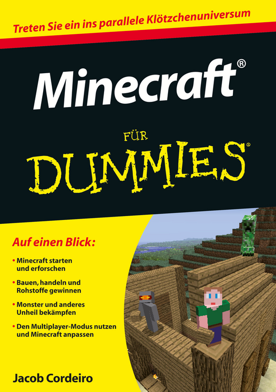 Jacob  Cordeiro Minecraft für Dummies jesse stay minecraft recipes for dummies
