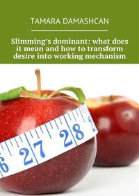 Tamara Damashcan - Slimming's dominant: what does it mean and how to transform desire into working mechanism