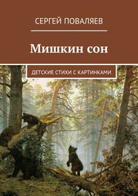 Сергей Поваляев - Мишкин сон. Детские стихи скартинками