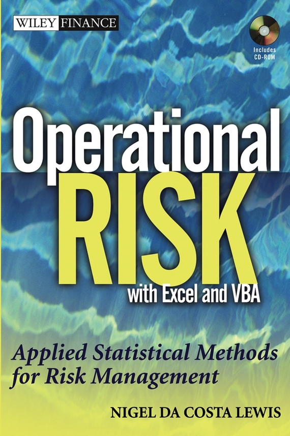 Nigel Lewis DaCosta Operational Risk with Excel and VBA. Applied Statistical Methods for Risk Management, + Website противотуманные галогенные фары avs pf 061h универсальные 2 шт