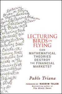 Pablo  Triana - Lecturing Birds on Flying. Can Mathematical Theories Destroy the Financial Markets?
