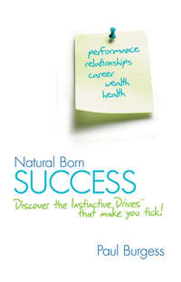 Paul  Burgess - Natural Born Success. Discover the Instinctive Drives That Make You Tick!