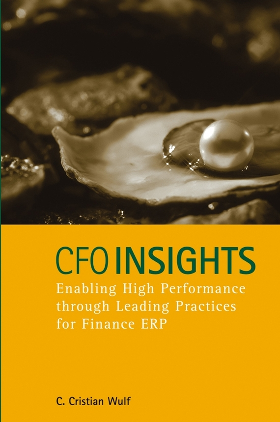 C. Wulf Cristian CFO Insights. Enabling High Performance Through Leading Practices for Finance ERP karen cvitkovich leading across new borders