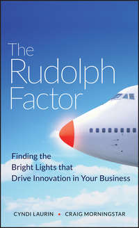 Cyndi  Laurin - The Rudolph Factor. Finding the Bright Lights that Drive Innovation in Your Business