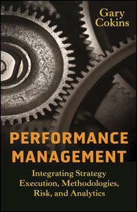 Gary  Cokins - Performance Management. Integrating Strategy Execution, Methodologies, Risk, and Analytics