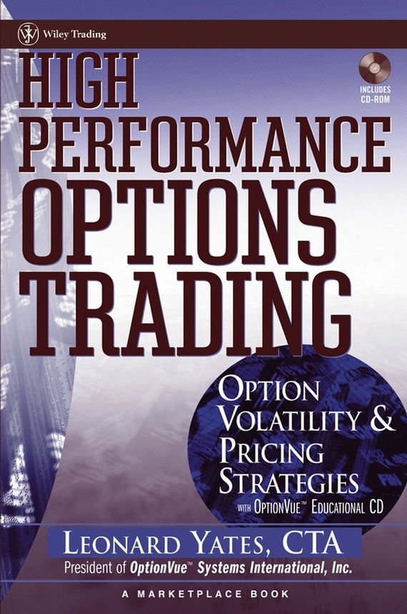 Leonard  Yates High Performance Options Trading. Option Volatility and Pricing Strategies w/website shark sport watch analog alarm auto date