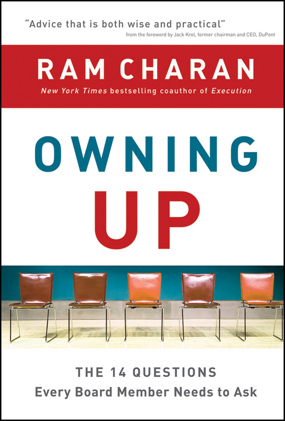 Ram Charan Owning Up. The 14 Questions Every Board Member Needs to Ask tsunami