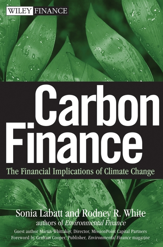 Sonia  Labatt Carbon Finance. The Financial Implications of Climate Change managers of global change – the influence of international environmental bureaucracies