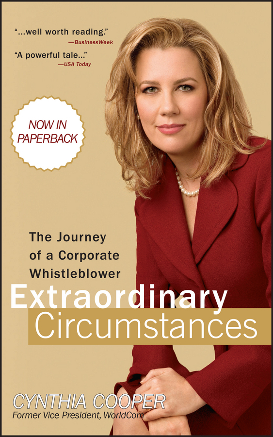Cynthia Cooper Extraordinary Circumstances. The Journey of a Corporate Whistleblower srichander ramaswamy managing credit risk in corporate bond portfolios a practitioner s guide
