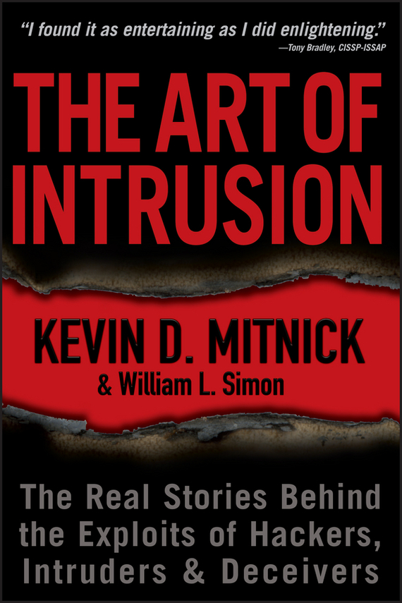 Kevin D. Mitnick The Art of Intrusion. The Real Stories Behind the Exploits of Hackers, Intruders and Deceivers backless lace up midi bodycon dress