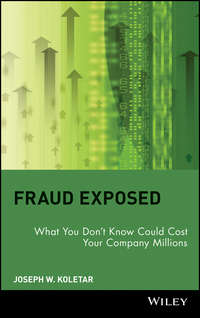 Joseph Koletar W. - Fraud Exposed. What You Don't Know Could Cost Your Company Millions