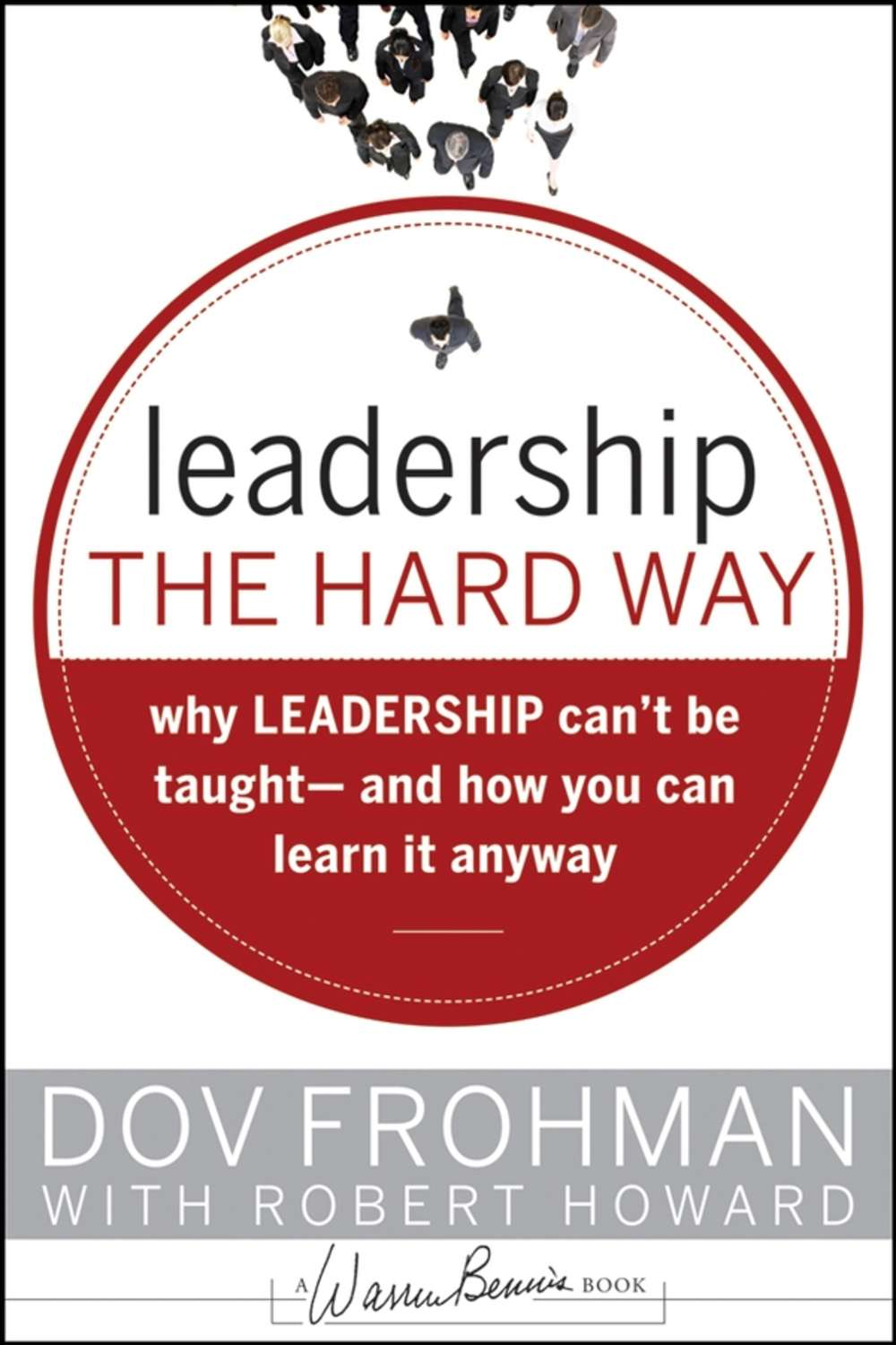 is leadership a skill that can be taught Then it hit me — people believe that you can't teach leadership skills and that great leaders are born, not made because whenever somebody emerges as a great leader, it's easy to say, they were obviously born to lead.