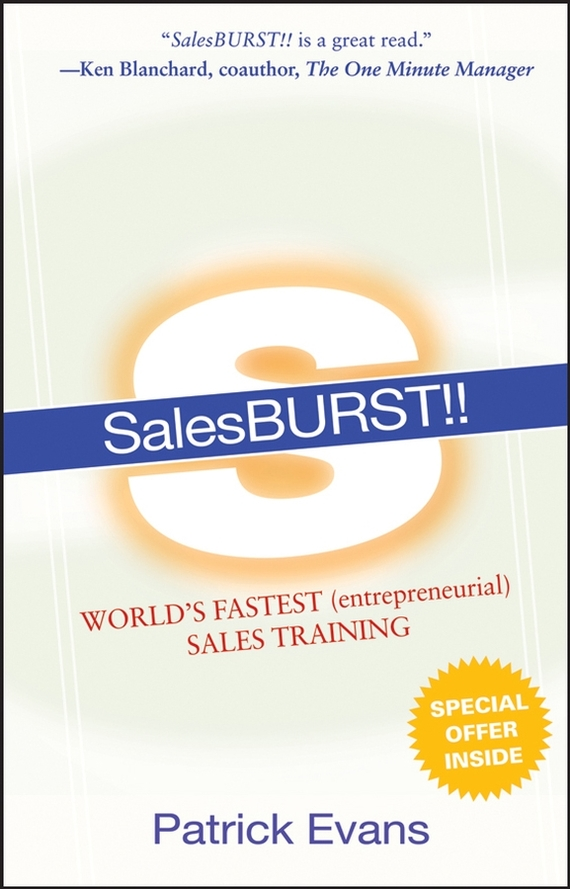 Patrick  Evans SalesBURST!!. World's Fastest (entrepreneurial) Sales Training nick calamos p convertible arbitrage insights and techniques for successful hedging