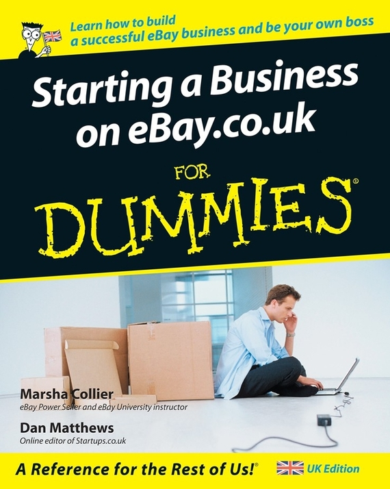Marsha  Collier Starting a Business on eBay.co.uk For Dummies marsha collier making money on ebay for dummies