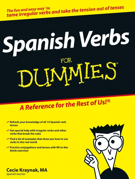 Cecie Kraynak Spanish Verbs For Dummies consumer dummies spanish all in one for dummies