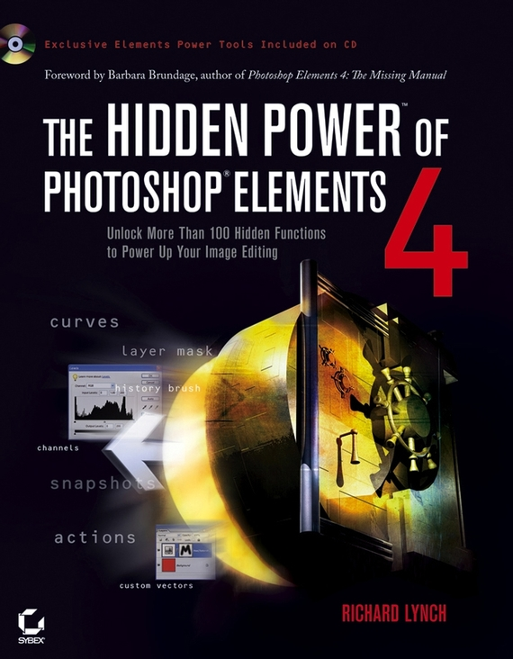 Richard Lynch The Hidden Power of Photoshop Elements 4 4 pin male to female computer power extension cable black yellow white 20cm
